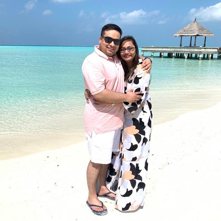Mrs. Kushali & Mr. Kunal Bhandari - Maldives