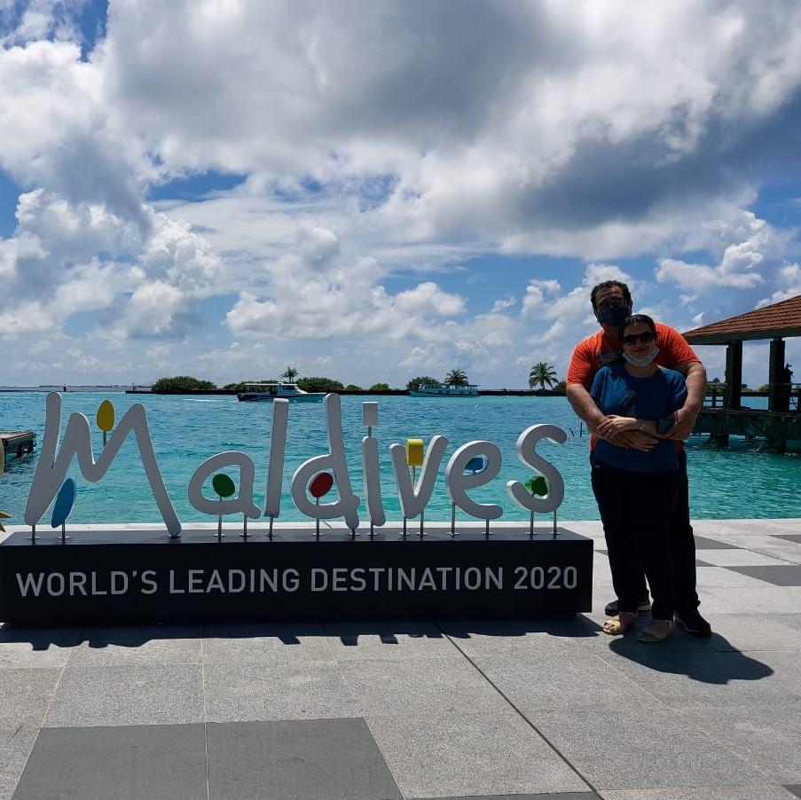 Mr. & Mrs. Verma - Maldives